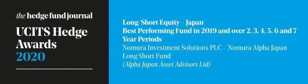 UCITS Hedge Awards 2020 – AJAA